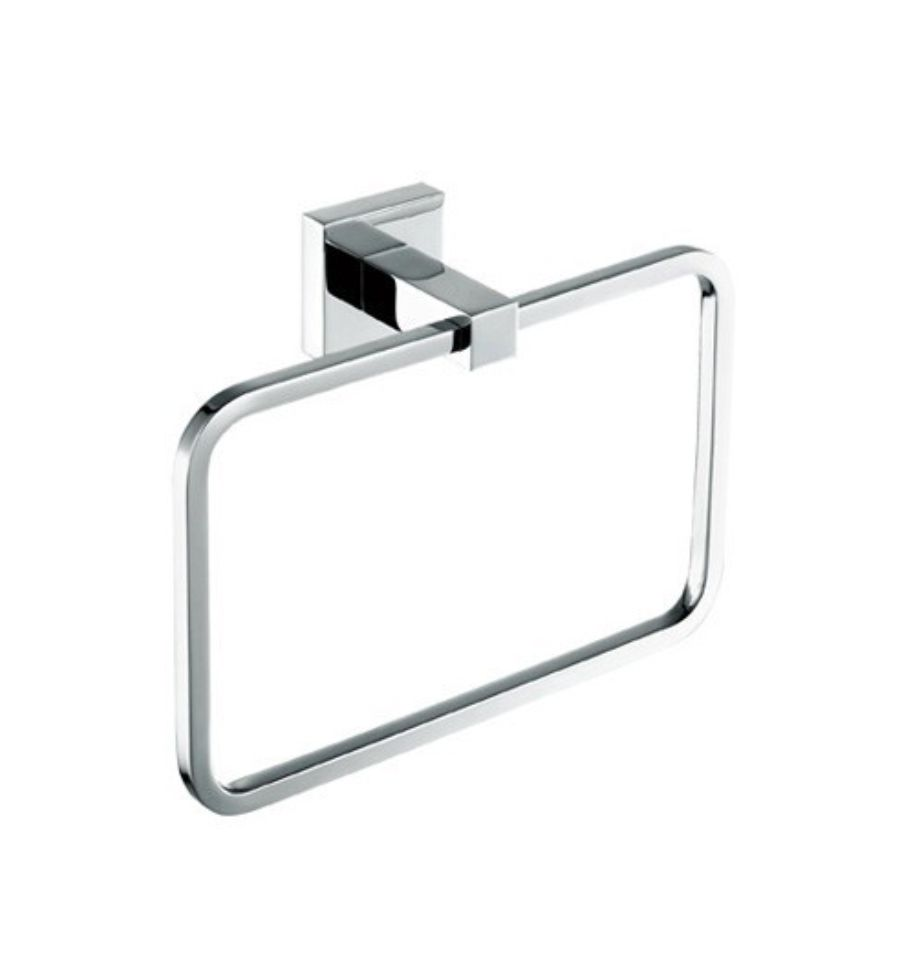 Piazza Towel Ring Chrome