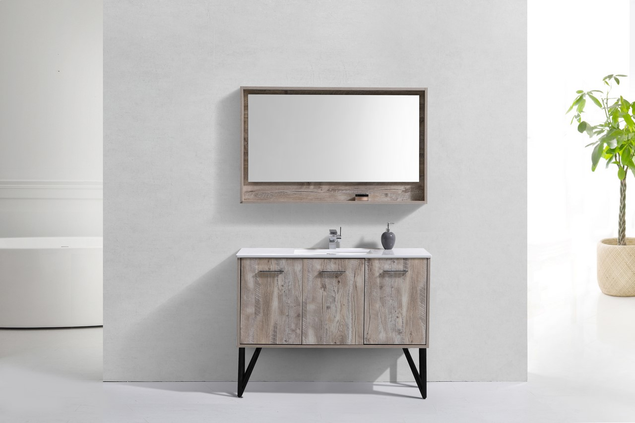 22 Original Bathroom Vanities With Matching Mirrors