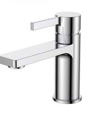 Aqua Sotto Single Lever Wide Spread Bathroom Vanity Faucet
