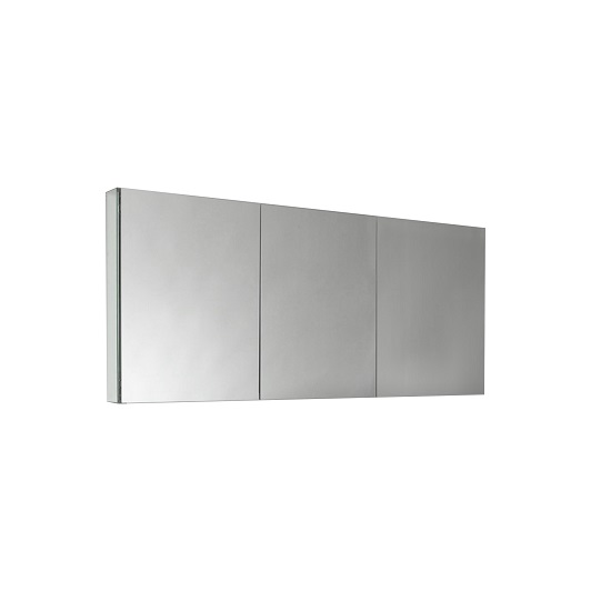 "60"" Wide Tona Bathroom Medicine Cabinet w/ Mirrors"