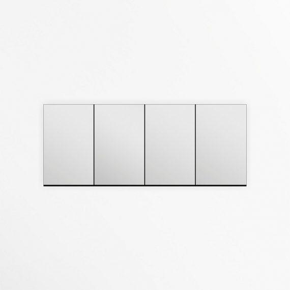 "79"" Wide Tona Bathroom Medicine Cabinet w/ Mirrors"