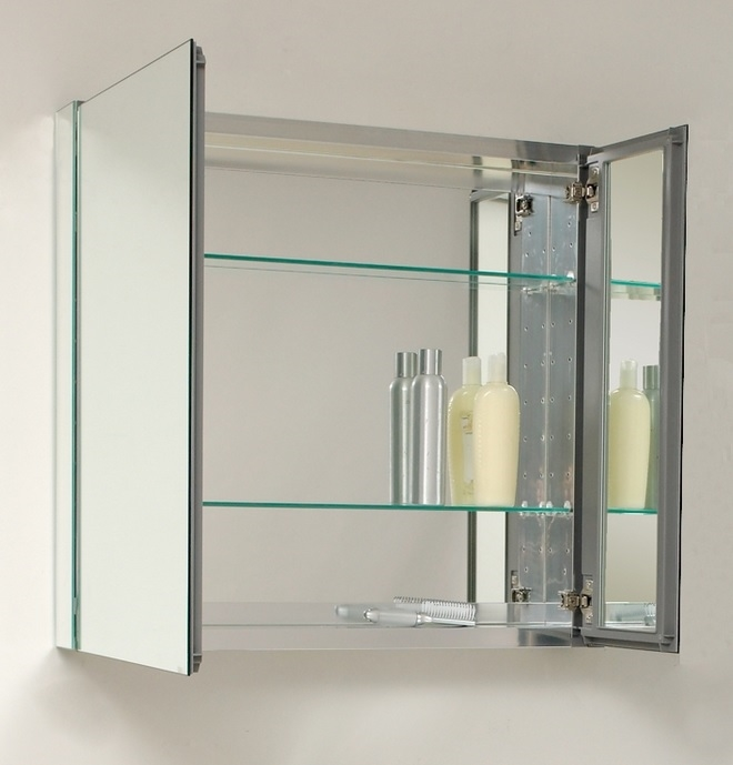 30 Quot Wide Medicine Cabinet W Mirrors