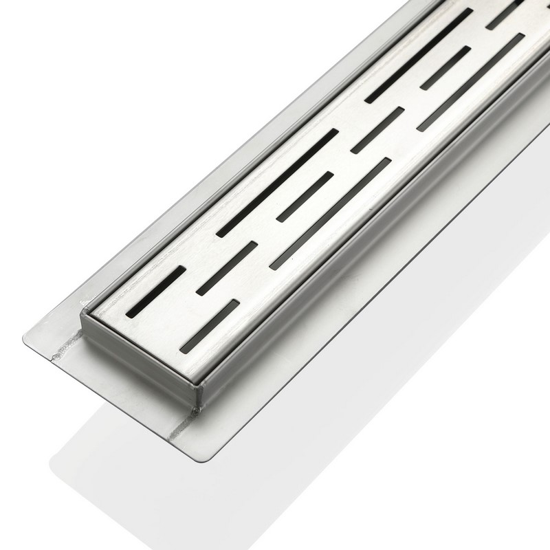 Kube 28 Quot Stainless Steel Linear Grate By Kubebath