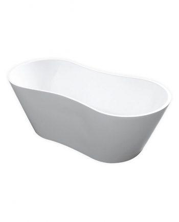 "Kube Onde 66"" Free Standing Bathtub"