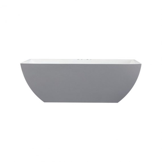 "Kube Contemporanea 59"" Free Standing Bathtub"