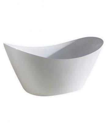 "Kube Luna 68"" Free Standing Bathtub"