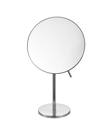 Aqua Rondo by KubeBath Magnifying Mirror - Chrome