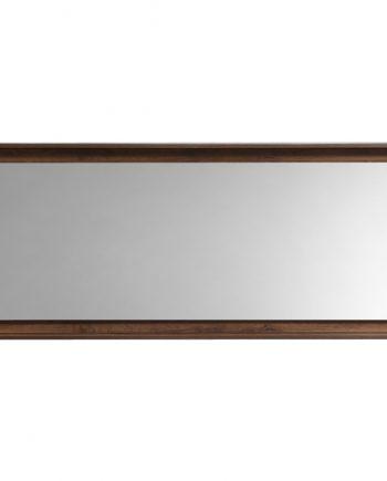 """60"""" Wide Mirror w/ Shelf - Walnut"""