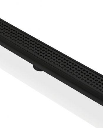 "Kube 28"" Stainless Steel Pixel Grate - Matte Black"