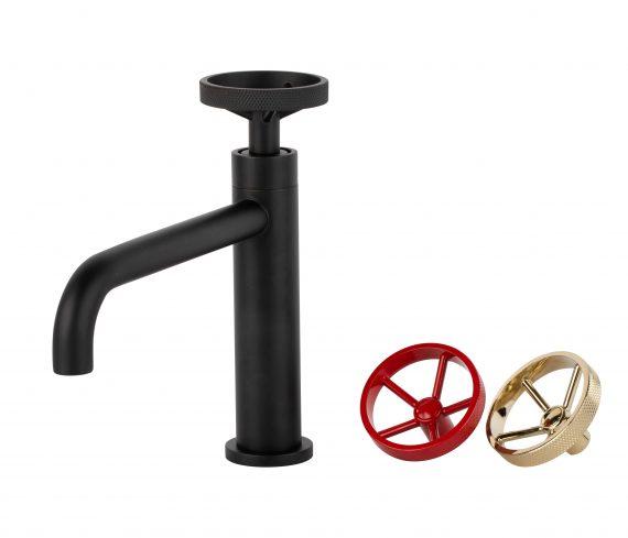 Aqua Loft Single Lever Bathroom Vanity Faucet -Matte Black