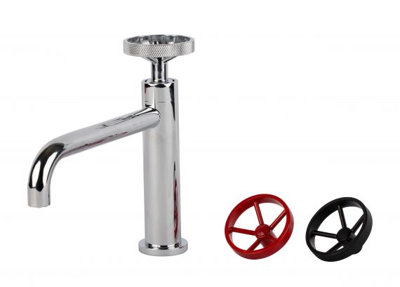 Aqua Loft Single Lever Bathroom Vanity Faucet - Chrome