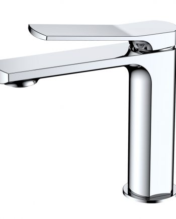 Aqua Balli Single Lever Bathroom Vanity Faucet - Chrome